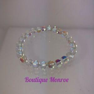 Jewelry - Healing Natural Opalite Crystal Bead Bracelet